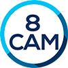 Sistema de Camaras Wifi NVR Todo en Uno + 8 Camaras Ip Bullet Logan 5