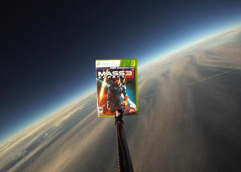 Mass Effect 3 en el espacio!