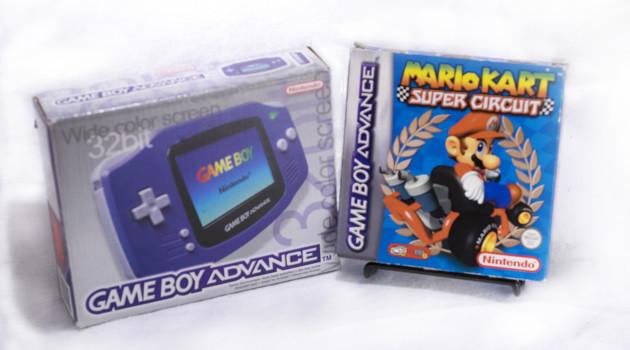 GBA + Mario Kart Super Circuit